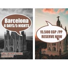 Barcelona,Spain 6 Days / 5 Nights from 10/04/2020 till 15/04/2020