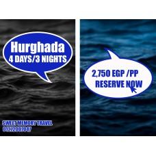 Hurghada 4 Days / 3 Nights Valid till 31/03/2020