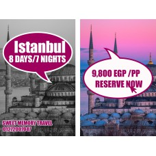 Istanbul,Turkey 8 Days / 7 Nights from 20/02/2020 till 27/02/2020