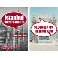 NEWYEARS OFFER :ISTANBUL,TURKEY  7 Days / 6 Nights from 29/12/2020 till 04/01/2021 (Registration no..2071)