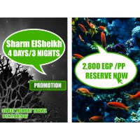 Sharm El Sheikh  4 Days / 3 Nights Valid till 26/12/2020 (Registration no.2071)